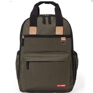 NWOT - Skip Hop - Duo Diaper Backpack